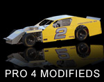 Click for Pro 4 Modified Design, Fabrication and Information on Pro Four Mod Racing